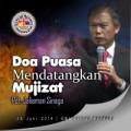Doa Puasa Mendatangkan Mujizat &#8211; Pdt. Jaliaman Sinaga<br />29 Juni 2014 (KU-2)
