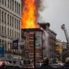 Gedung Ambruk di New York City karena Ledakan