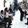 "Wajib Pajak yang Ikut ""Tax Amnesty"" di KPP Sunter Antre sejak Pagi"