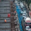 Satu Lajur Kendaraan Dibuka di Lokasi Proyek MRT Lebak Bulus