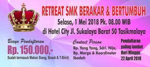 Retreat SMK Berakar Bertumbuh 1 Mei 2018