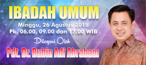 Ibadah Minggu 26 Agustus 2018