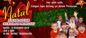 Natal Anak Sekolah Minggu