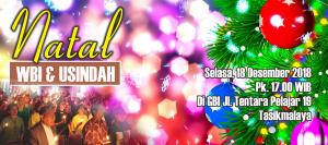 Natal WBI dan Usindah