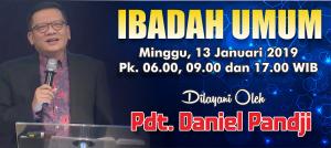 Kebaktian Minggu 13 Januari 2019