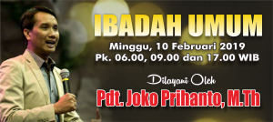 Kebaktian Minggu 10 Februari 2019