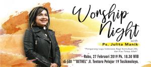 Worship Night Bersama Julita Manik