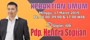 Ibadah Minggu 17 Mar 2019