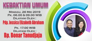 Minggu 26 Mei 2019