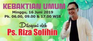 Minggu 16 Juni 2019
