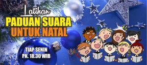 Latihan Paduan Suara Natal