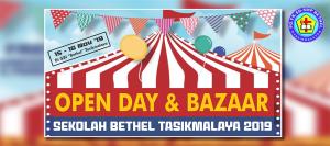 Open Day dan Bazaar Sekolah Bethel 2019