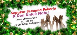 Sepakat Bersama Pekerja dan Doa untuk Natal