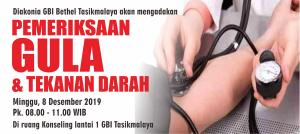 Pemeriksaan gula dan tekanan darah