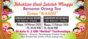 Keb Anak Gabungan 16 dan 23 Feb 2020