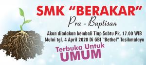 SMK Berakar Pra Baptisan